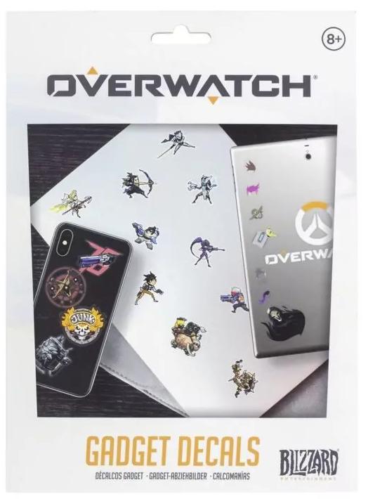 Набор наклеек Overwatch