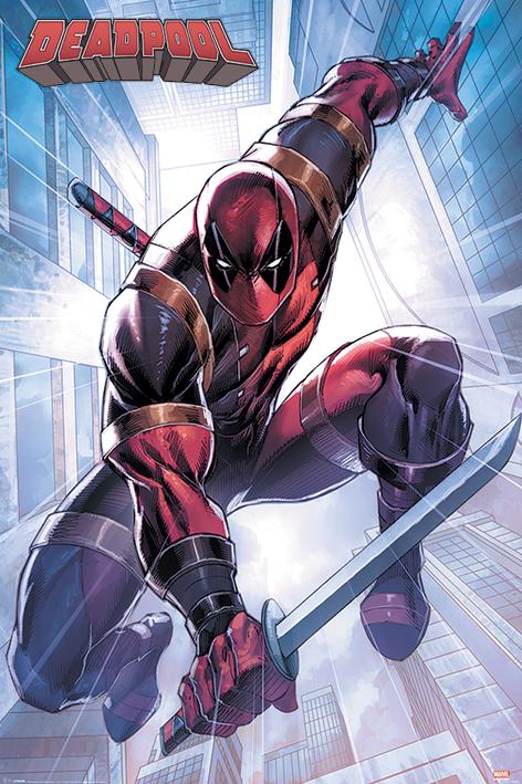 Постер Marvel: Deadpool – Action Pose