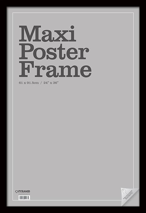 Рамка Maxi Poster Frame (Чёрная) (61х91.5 см)