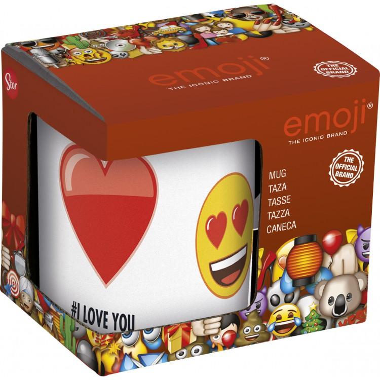 Кружка Emoji: I love You