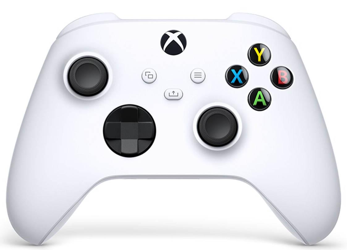 Геймпад беспроводной для Xbox (Белый).