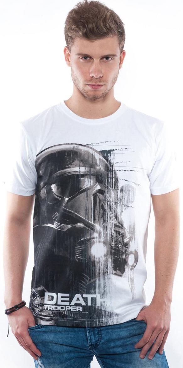 Футболка Star Wars Death Trooper (белая)