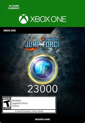 Jump Force. 23000 Medals [Xbox One, Цифровая версия] (Цифровая версия)