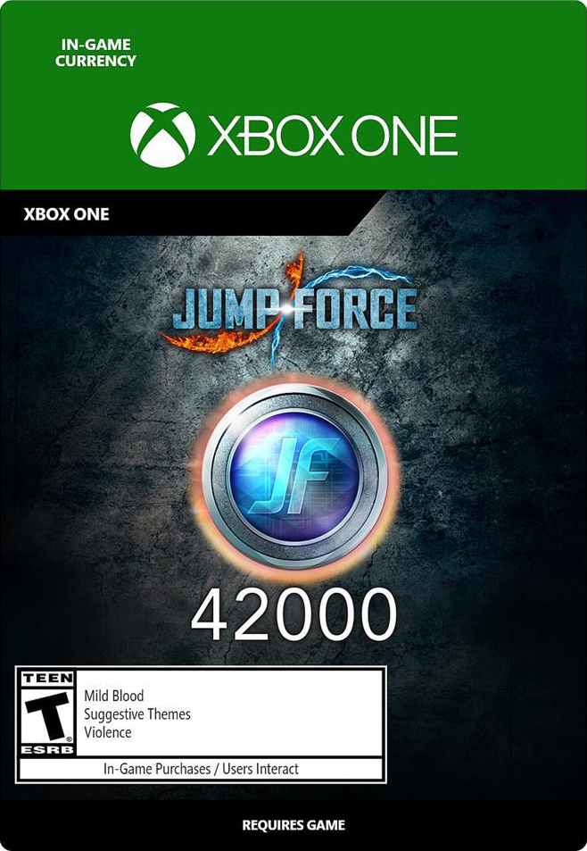 Jump Force. 42000 Medals [Xbox One, Цифровая версия] (Цифровая версия)