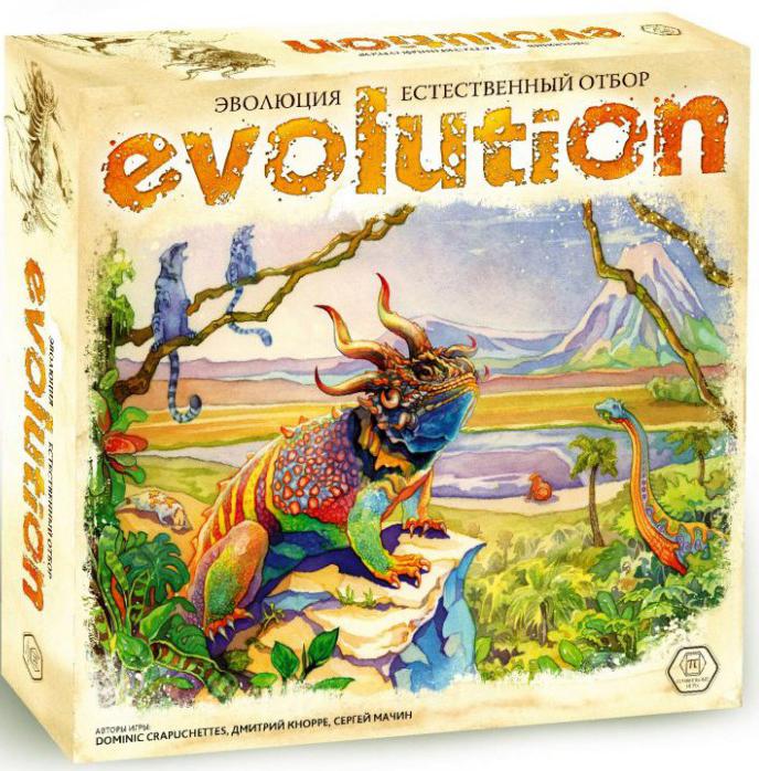Настольная игра Эволюция: Естественный отбор.