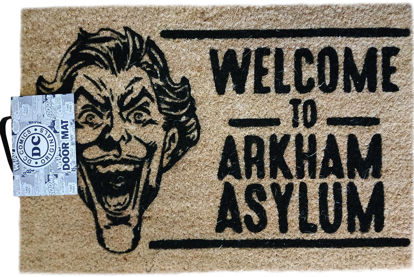 Фото - Коврик The Joker: Welcome To Arkham Asylum коврик the joker welcome to arkham asylum