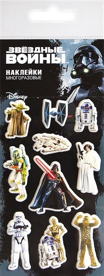 Набор наклеек Disney 2: Звёздные войны 1 спортивные брюки disney звездные войны черный