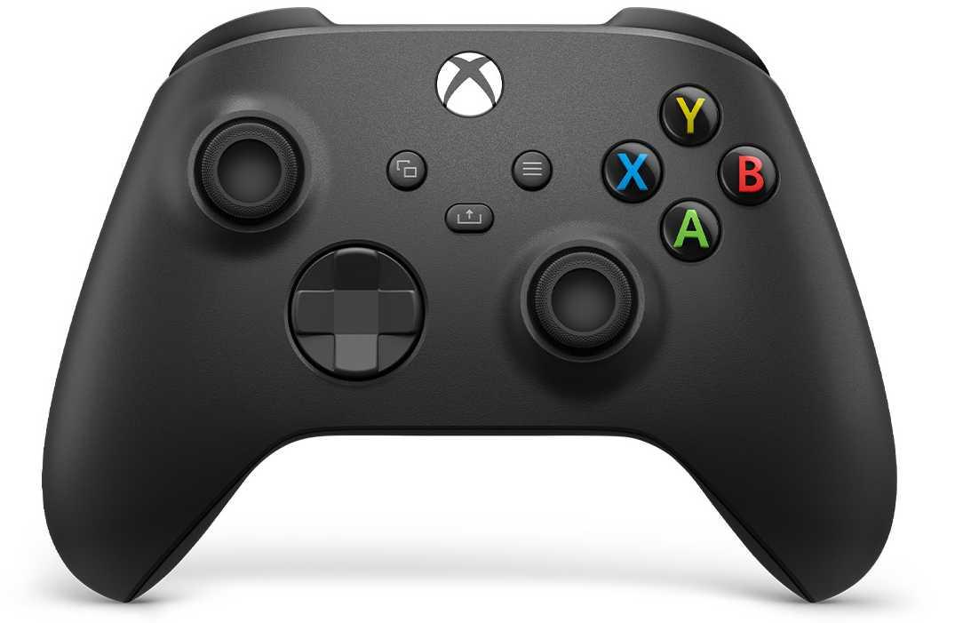 Геймпад беспроводной для Xbox (Чёрный).