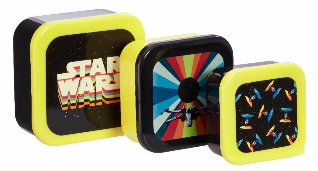 Набор контейнеров для продуктов Funko Star Wars Retro: Retro Vehicles (3-Pack)