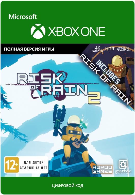 Risk of Rain. 1 + 2 Bundle [Xbox One, Цифровая версия] (Цифровая версия)