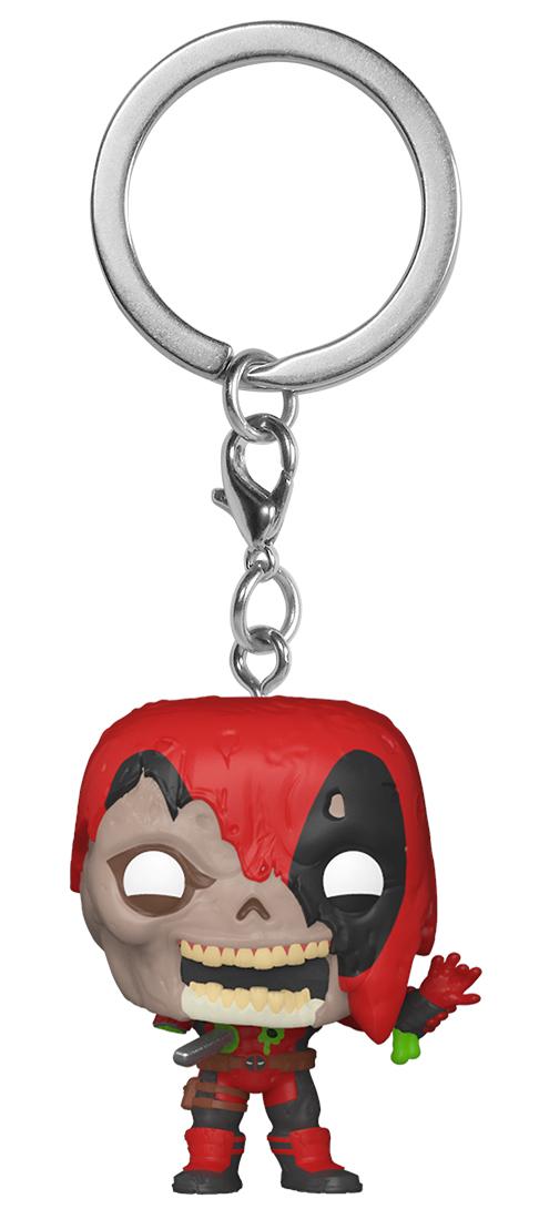 брелок deadpool head 3d Брелок Funko Pocket POP: Marvel Zombies – Zombie Deadpool