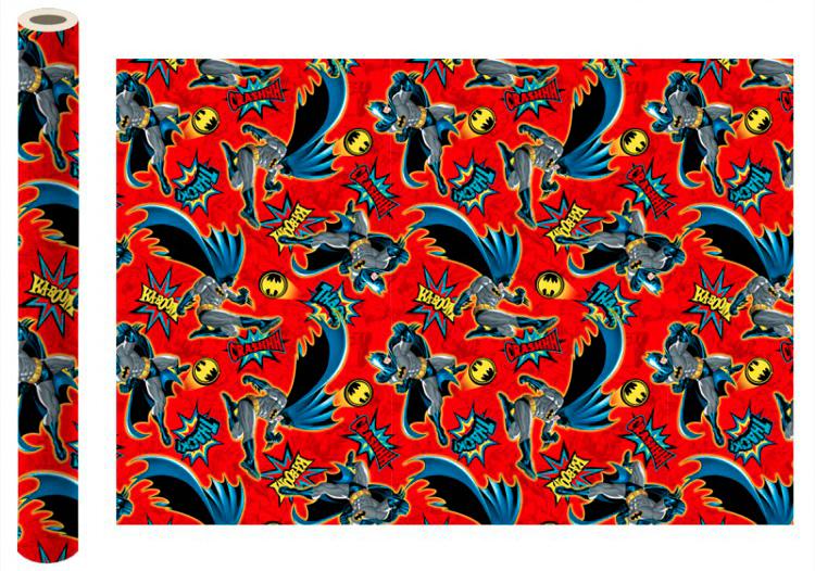 Фото - Бумага упаковочная Batman (красная) 700x1000 мм (2 шт.) бумага упаковочная принцесса 700 1000мм 2 шт