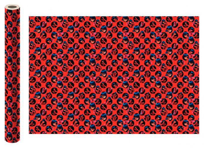 Фото - Бумага упаковочная Леди Баг и Супер-Кот (красная) 700x1000 мм (2 шт.) бумага упаковочная принцесса 700 1000мм 2 шт