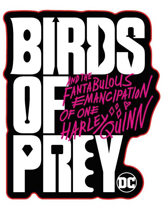 Наклейка-патч для одежды DC: Хищные Птицы 2