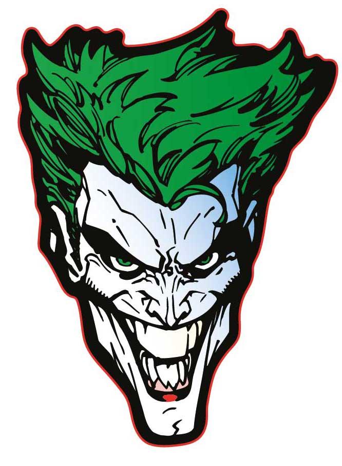 Наклейка-патч для одежды DC: Джокер 1