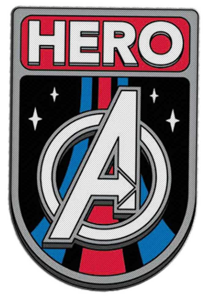 Фото - Наклейка-патч для одежды Мстители 1 наклейка патч для одежды энчантималс фелисити 1
