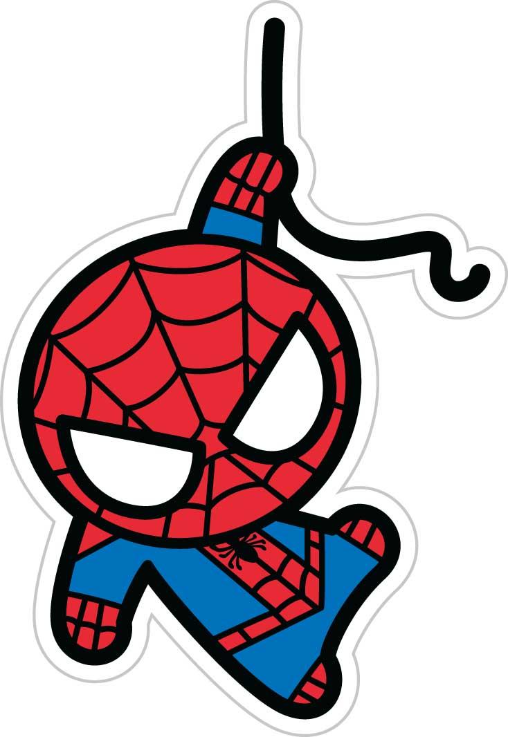 Фото - Наклейка-патч для одежды Человек-Паук Kawaii 1 наклейка патч для одежды энчантималс фелисити 1