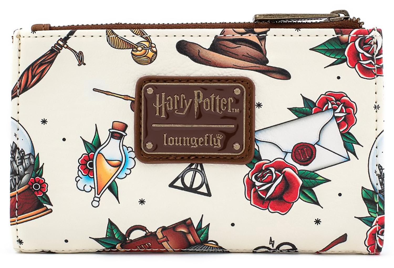 Фото - Кошелек Harry Potter: Tattoo Aop магический блокнот гарри поттер фантастические твари и где они обитают
