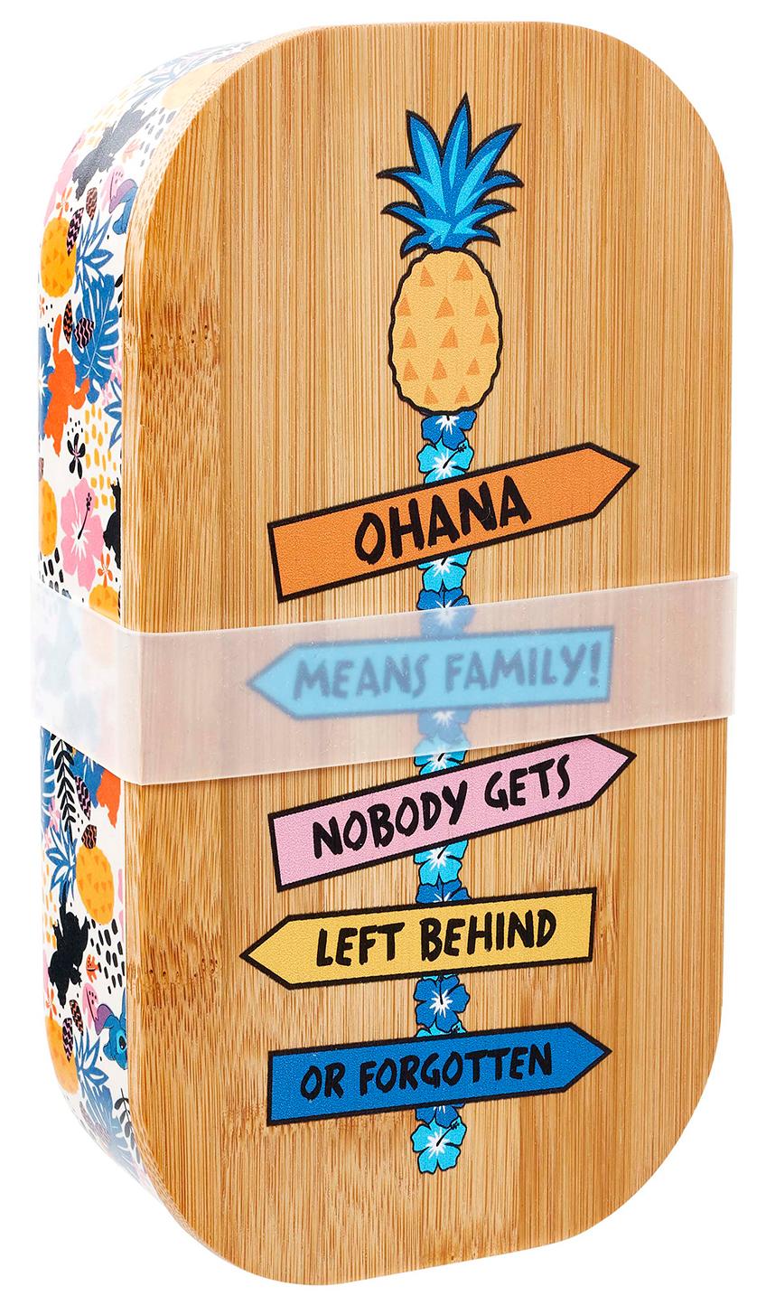 Фото - Контейнер для продуктов Funko Disney: Lilo & Stitch – Ohana the unofficial guide® to walt disney