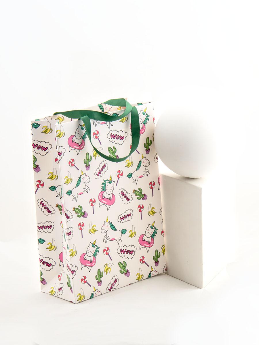 Фото - Пакет Единорог на пончике подарочный А4 пакет подарочный единорог на пончике а5 16 х 24 х 8 см