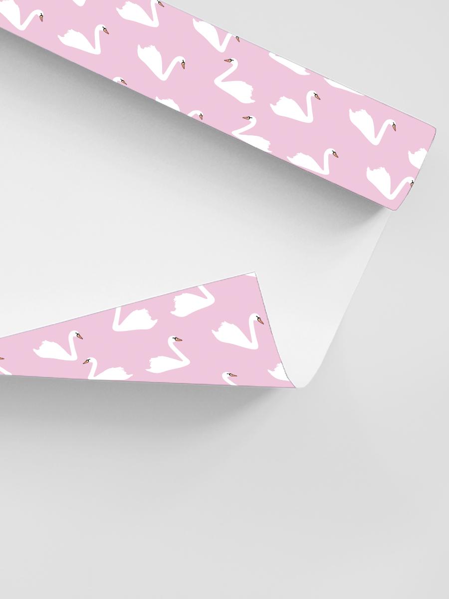 Бумага упаковочная Лебеди