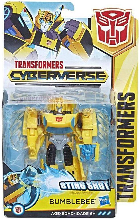 Фигурка Transformers Cyberverse: Bumblebee transformers игрушкатрансформер кибервселенная 10 см e1883