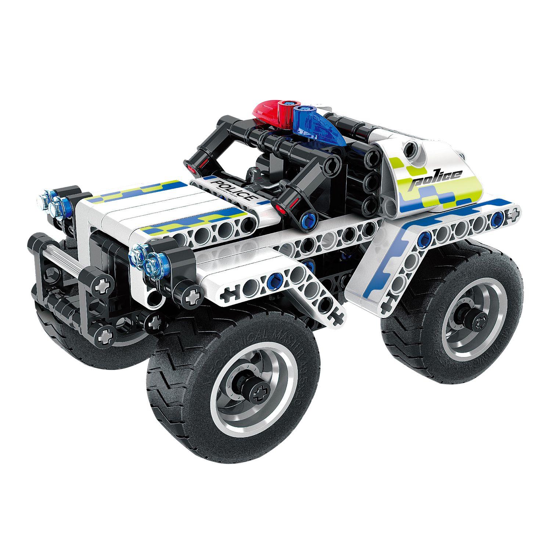 Конструктор Техника: Полицейская машина инерционная