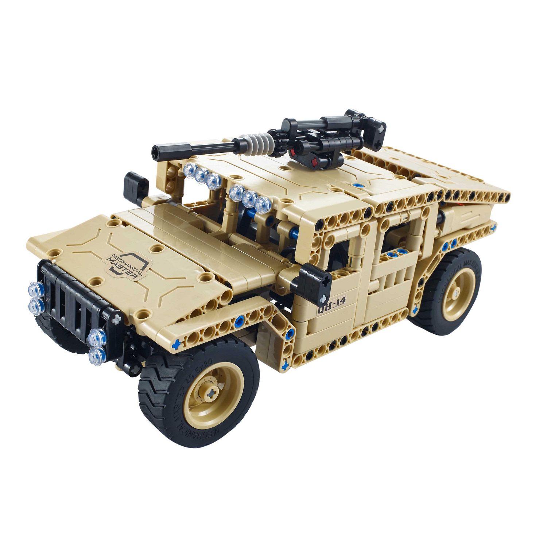 Конструктор Техника: Военный внедорожник радиоуправляемый