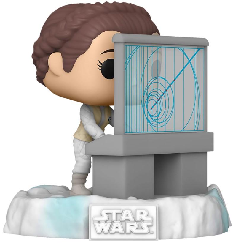 Фигурка Funko POP Star Wars 40: The Empire Strikes Back – Battle At Echo Base: Princess Leia Deluxe Bobble-Head Exclusive (9,5 см) недорого