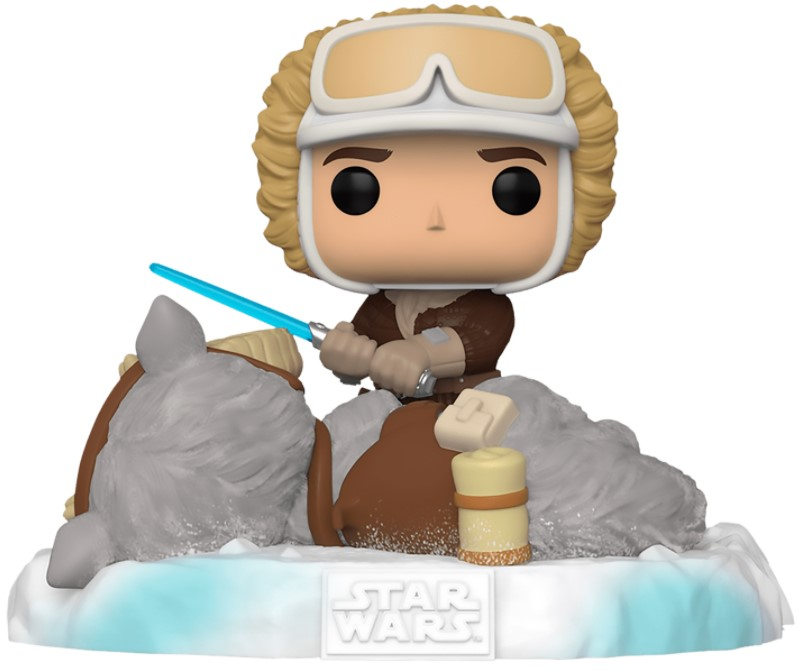 Фигурка Funko POP Star Wars 40: The Empire Strikes Back – Battle At Echo Base: Han Solo With Tauntaun Deluxe Bobble-Head Exclusive (9,5 см) funko pop bobble фигурка star wars solo qi ra pop 6 26977