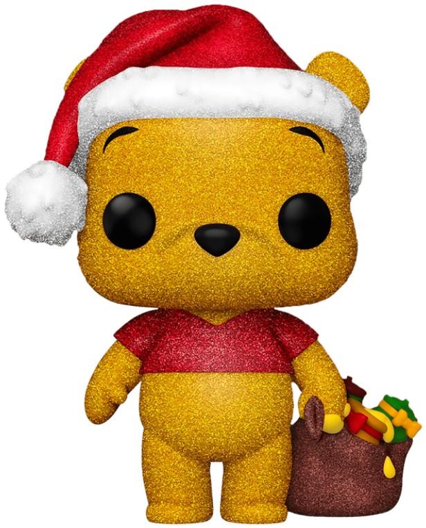 Фигурка Funko POP Disney Holiday: Winnie The Pooh – Diamond Glitter Exclusive (9,5 см)