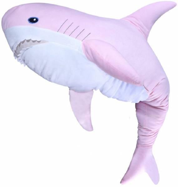 Мягкая игрушка Акула Розовая (100 см)