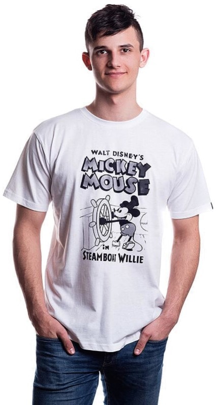 Футболка Disney: Mickey Steamboat – Willie
