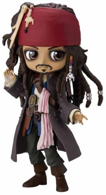 Фигурка Q Posket: Disney Characters – Jack Sparrow Version A (15 см)