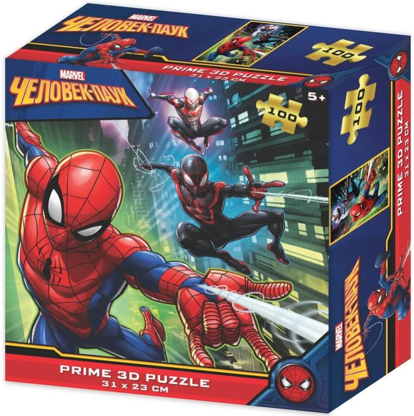 Prime 3D Puzzle: Marvel – Человек-Паук 2 (100 элементов) prime 3d puzzle disney – история игрушек 2 100 элементов