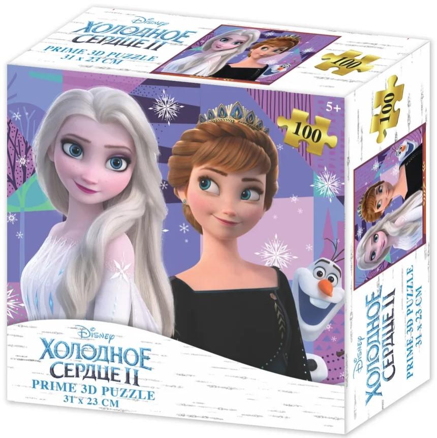 Prime 3D Puzzle: Disney – Холодное Сердце (100 элементов) prime 3d puzzle disney – история игрушек 2 100 элементов