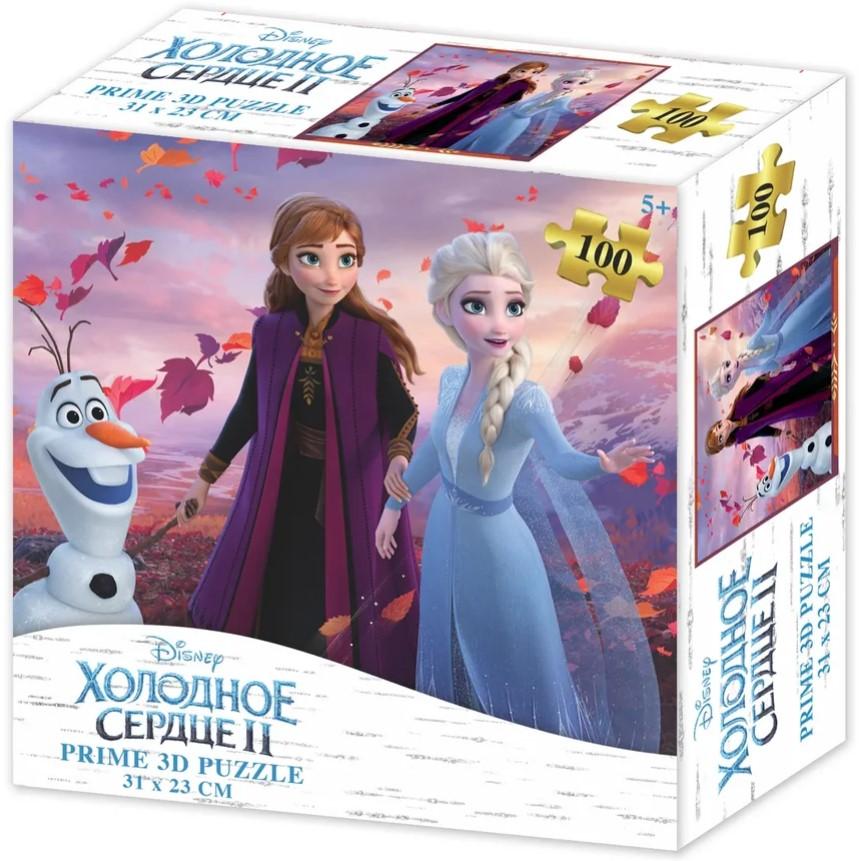 Prime 3D Puzzle: Disney – Холодное Сердце 2 (100 элементов) prime 3d puzzle disney – история игрушек 2 100 элементов