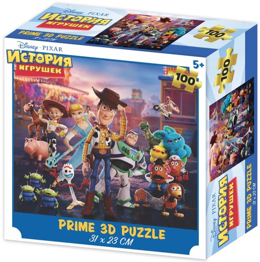 Prime 3D Puzzle: Disney – История Игрушек 2 (100 элементов)