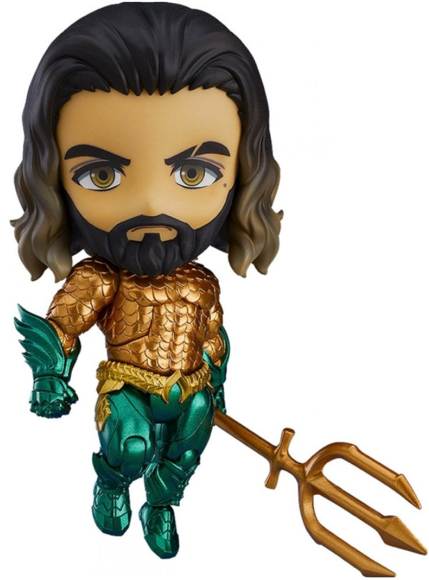 Фигурка Nendoroid: Aquaman – Aquaman Hero`s Edition (10 см) aquaman the legend of aquaman