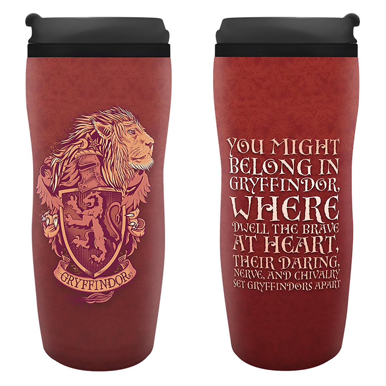 Кружка-термос Harry Potter: Gryffindor Travel Mug (355 мл.) книжка с наклейками harry potter турнир трёх волшебников