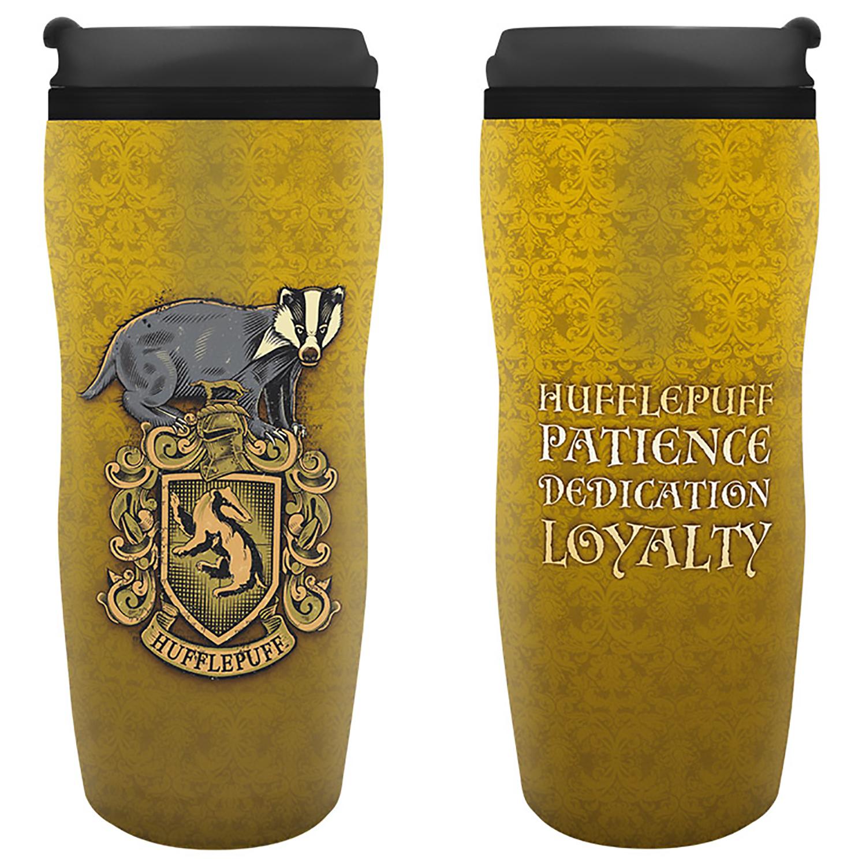 Кружка-термос Harry Potter: Hufflepuff Travel Mug (355 мл.) книжка с наклейками harry potter турнир трёх волшебников