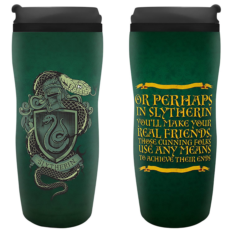 Кружка-термос Harry Potter: Slytherin Travel Mug (355 мл) книжка с наклейками harry potter турнир трёх волшебников