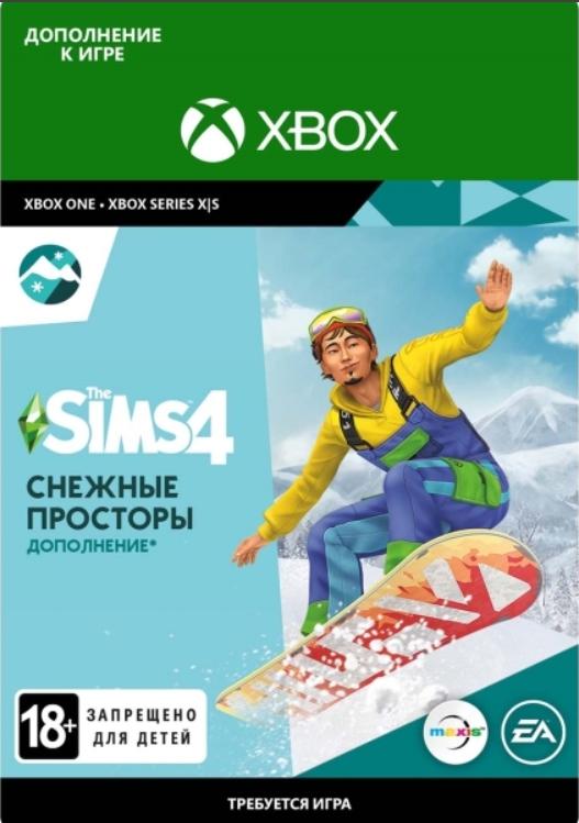 The Sims 4. Снежные просторы. Дополнение [Xbox, Цифровая версия] (Цифровая версия)