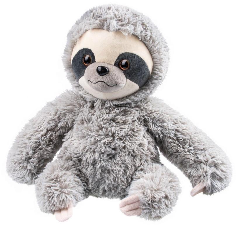 Мягкая игрушка «Ленивец» (серый) (28 см)