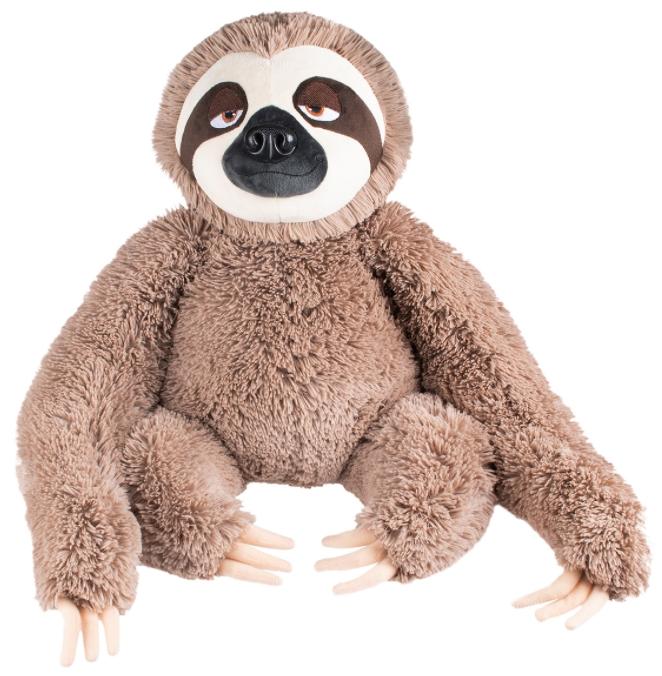 Мягкая игрушка «Ленивец» (коричневый) (28 см)