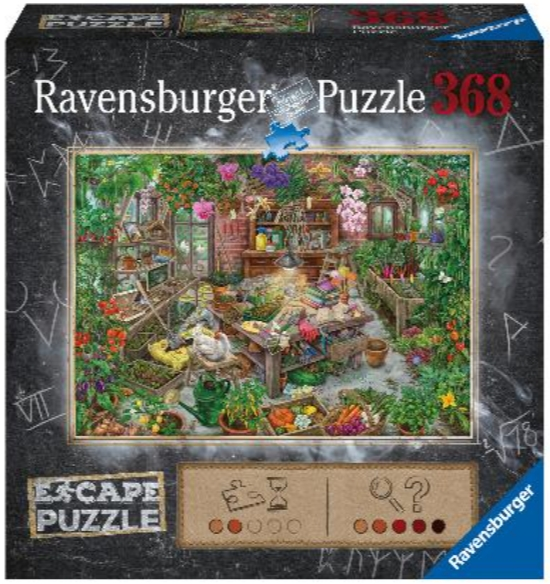 Пазл-квест Ravensburger «Оранжерея» (368 элементов)