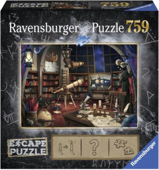 Пазл-квест Ravensburger «Обсерватория» (759 элементов)