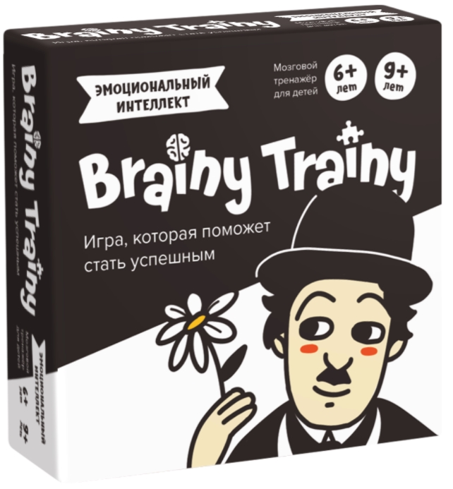 Настольная игра-головоломка Brainy Trainy «Эмоциональный интеллект»