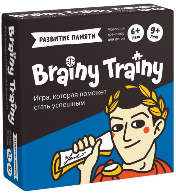 Настольная игра-головоломка Brainy Trainy «Развитие памяти»