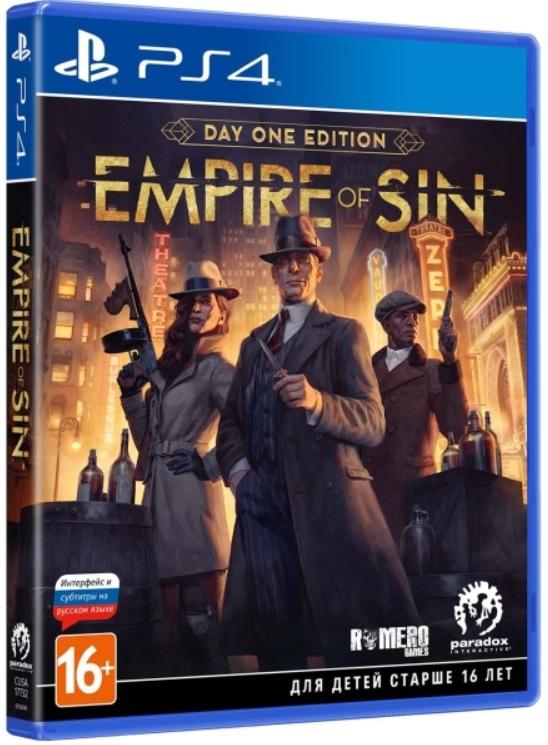 Empire of Sin. Издание первого дня [PS4]